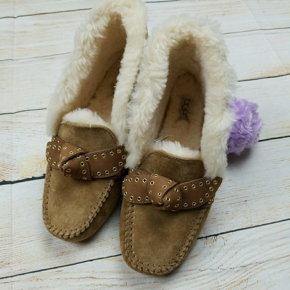 f559ba1c375 UGG Poler suede Sheepskin Mickey Mouse Slippers 9